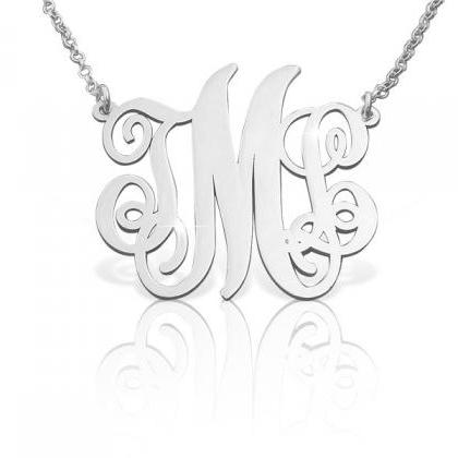 Monogram Necklace! Order any three ..