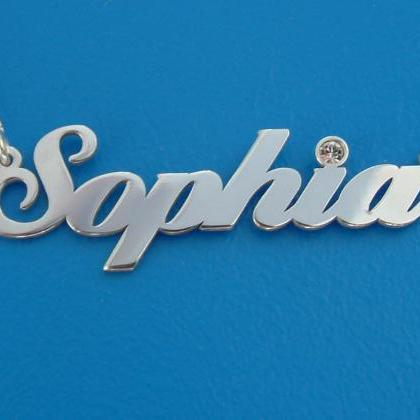 Sophia Style Name Necklace Personal..