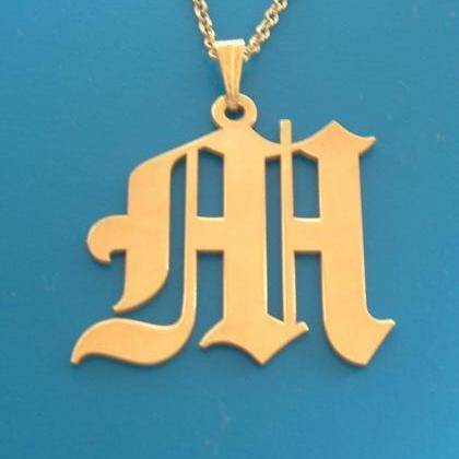 Monogram Necklace! Order Any Letter..